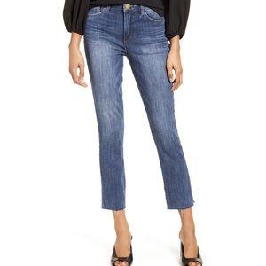 J. Crew Matchstick Jeans with Raw Hem